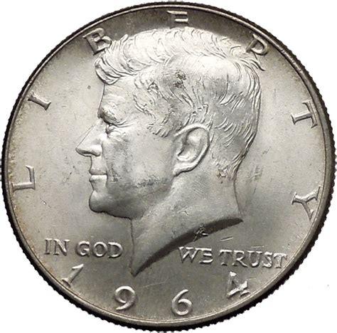 1964 half dollar silver value 1964 president john f kennedy silver half dollar united states usa coin i44608 ebay