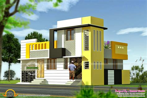 9 Feet Front Home Design : Kerala Home Design And Floor Plans