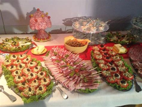 decoration buffet froid mariage buffet mariage le mariage