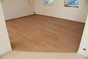 carrelage imitation parquet ceramique aspect bois liege With parquet céramique