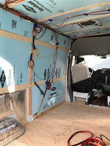 Camper Van Solar Panels  U0026 Electrical System  With Wiring