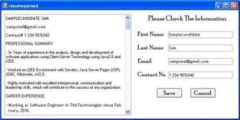 16034 parse resume exle parse resume exle 28 images parse resume