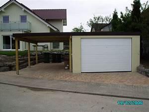 Carport Terrasse Kombination : garage und carport kombination die garagen carport profis kombinationen garage carport ~ Somuchworld.com Haus und Dekorationen