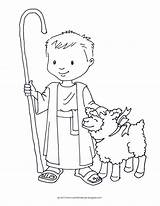 Shepherd Coloring David Boy Sheet Shepard Crafts Printable Sheets Google Preschool Template Sheep Sunday Bible Craft Lamb Jesus Pastor Nativity sketch template