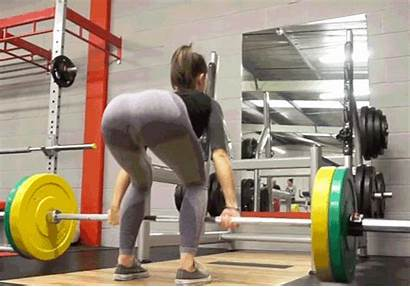 Deadlift Lift Exercises Butt Barbell Death Without