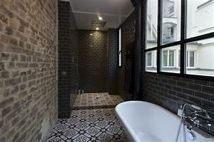 idee salle de bain avec douche italienne salle de bain With idee salle de bain italienne
