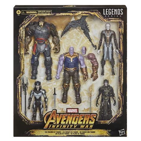 marvel legends children  thanos figure  pack figurescom