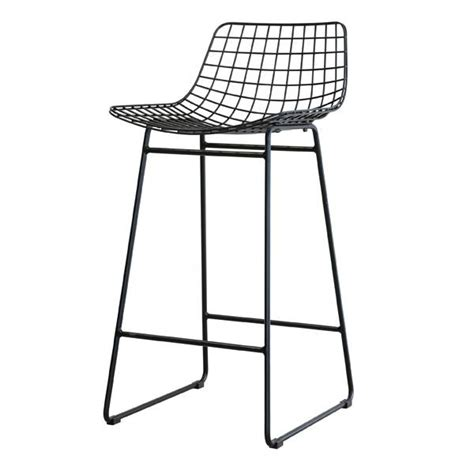 mesh bar stools hk living barstool metal black living and co 4083