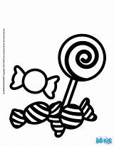 Sweets Coloring Candy Pages Candies Halloween Spiral Getcolorings 7l4 Item06 Source Printable Hellokids sketch template