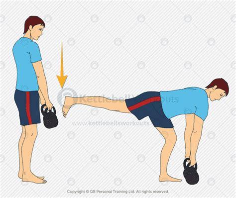 deadlift leg single muscle kettlebells kettlebell deadlifts double build steps simple