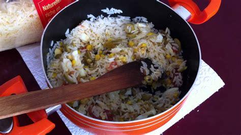 plat a cuisiner rapide faire une salade de riz recette fraîcheur facile
