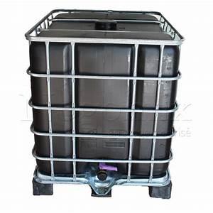 Recuperateur Eau De Pluie 1000 Litres : cuve citerne noire de 1000 litres r cup ration eau pluie ~ Premium-room.com Idées de Décoration