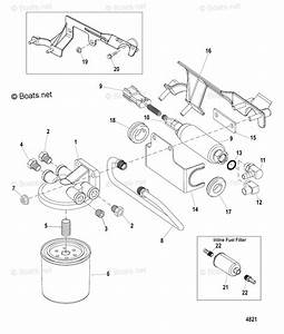 Mercury Mercruiser Inboard Parts By Size  U0026 Serial Gas Oem Parts Diagram For Fuel Filter And