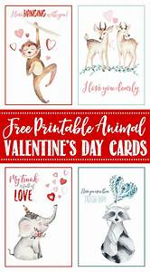 Free Printable Valentine's Day Cards and Tags - Clean and ...