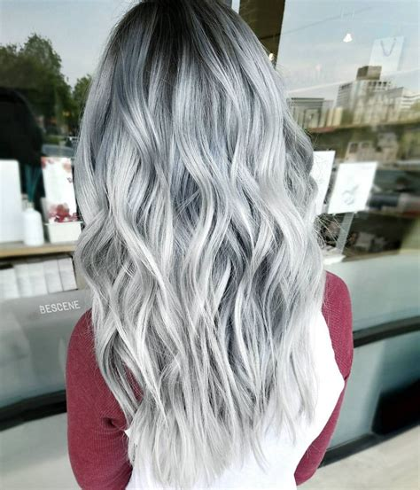 Best 25 Silver Platinum Hair Ideas On Pinterest Gray