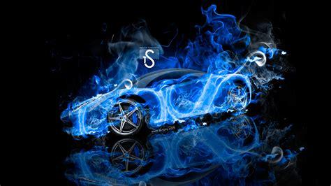 Blue Neon Wallpaper Blue Lightning Lamborghini by Italia Abstract Car 2013 El Tony