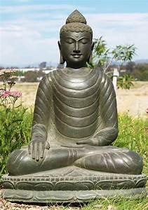Sold Green Garden Buddha Statue 28 U0026quot    69ls38   Hindu Gods
