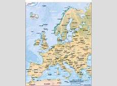 Geography for Kids European countries flags, maps