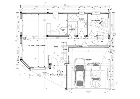 plan de construction de maison individuelle