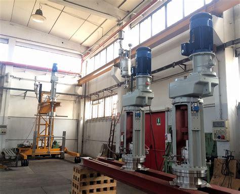 top entry industrial mixers