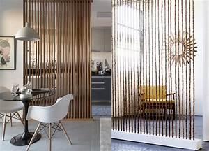 15 inspirations pour diviser une piece avec des claustras With meuble pour separer cuisine salon 1 6 idees pour diviser un studio joli place