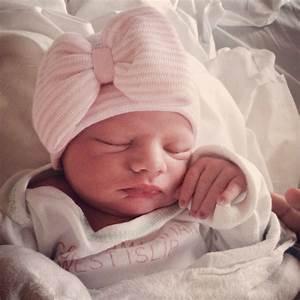 BABY GIRL HAT newborn hospital hat newborn by ...