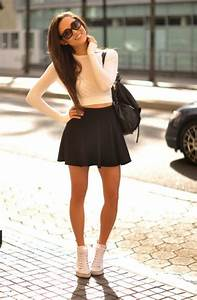 Outfit Ideas Womenu0026#39;s Sneakers For Work And Parties 2018 | FashionTasty.com