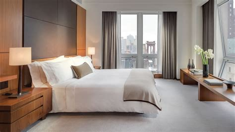The Bedroom Place by Empire State View Suite New York City Luxury Hotel