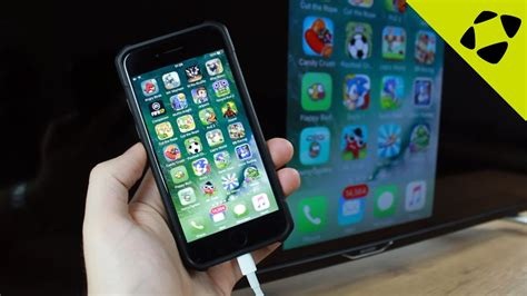 how to connect iphone iphone 7 how to connect to hdtv in a minute screen