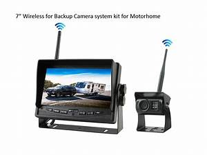 7 U0026quot  Wireless Backup Camera System For Towing Motorhome