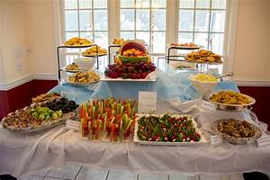 baby shower food table | Party Ideas | Pinterest