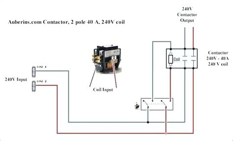 Single Phase Magnetic Contactor Wiring Diagram by Wiring Contactors Diagram Shelectrik