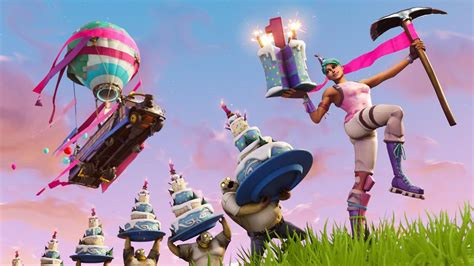 fortnites  year anniversary   celebrated