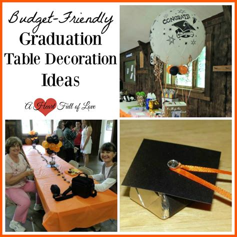 graduation decoration ideas 2016 graduation table decoration ideas a of