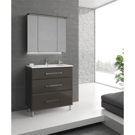 evier cuisine noir 1 bac meuble de salle de bains de 80 à 99 gris argent opale