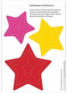 Weihnachtsbasteln Mit Kindern Vorlagen : weihnachtsmobile sterne rot gelb pink bastelbogen zum ~ Watch28wear.com Haus und Dekorationen