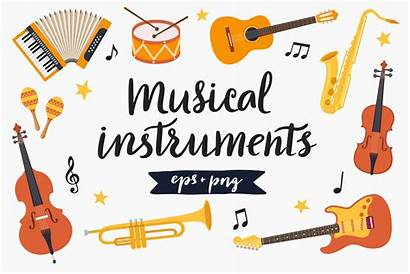 Clipart Instruments Musical Bonus Creative