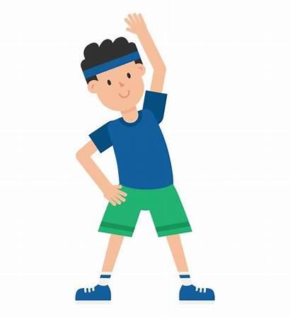 Exercise Clipart Clip Exercising Cartoon Animated Transparent