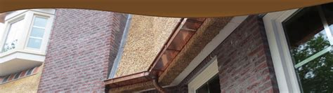 rieten dak zink hemelwaterafvoer vakfederatie rietdekkers