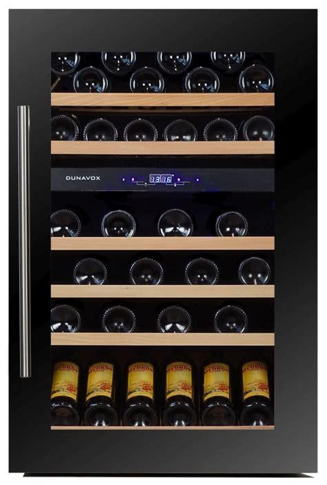 Inbouw Wijnkoeler Keuken by Dunavox Inbouw Wijnkoeler 57 146dbk Product In Beeld
