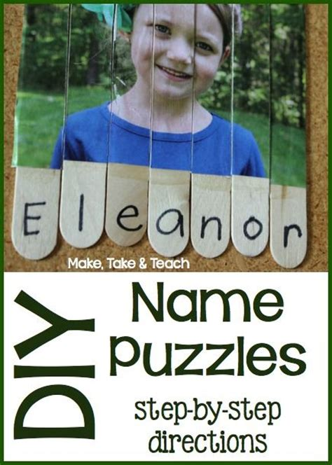 step by step directions for your own name puzzles 387 | 38030511addf8dea6e49f4c1ca28261d