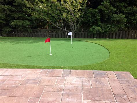 Cost Of Putting Green In My Backyard by Synthetic Grass Cost Buena Vista Colorado Putting Green