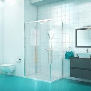 Porte Coulissante Angle Droit : paroi de douche d angle avec porte coulissante hekli verre ~ Melissatoandfro.com Idées de Décoration