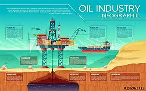 Vector Oil Industry Business Presentation Infographics