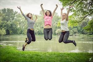 Free Images : woman, jump, jumping, female, portrait, park ...