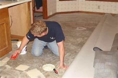 how to lay linoleum over old linoleum hunker