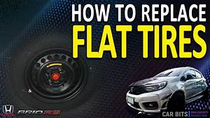 How To Replace Flat Tires