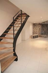 Escalier De Maison Interieur : les 25 meilleures id es concernant escalier tournant sur ~ Zukunftsfamilie.com Idées de Décoration