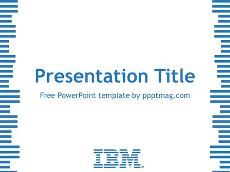 top free powerpoint presentation templates used by students free ibm powerpoint template pptmag