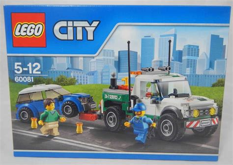 Lego 60081 Pickup Tow Truck Set Traffic Vehicle City